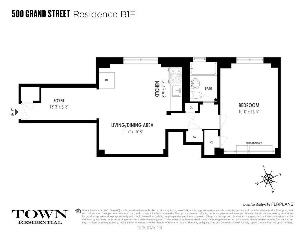 7 manhattan one-bedrooms asking less than  500 000