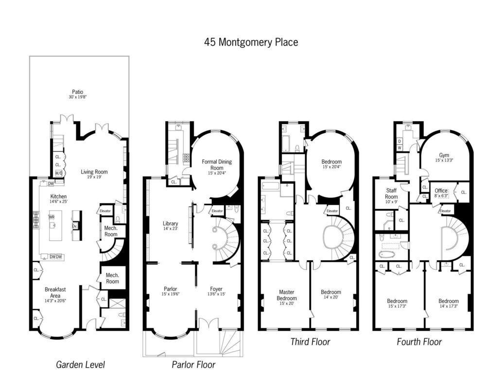 45 Montgomery Pl In Park Slope Sales Rentals