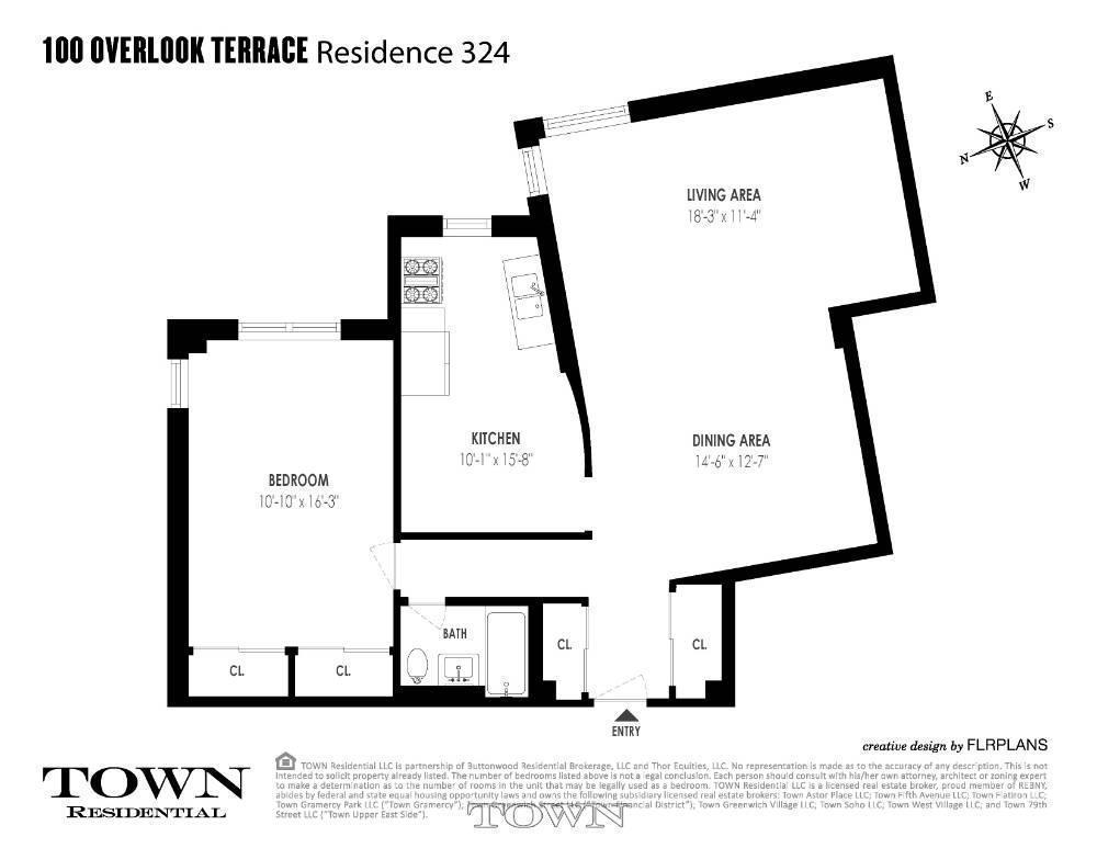 Streeteasy 100 overlook terrace in hudson heights 324 for 100 overlook terrace