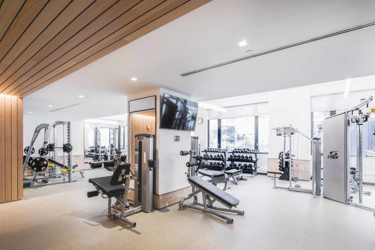 Streeteasy one columbus place at 1 columbus place in hell for 3000 sq ft gym layout