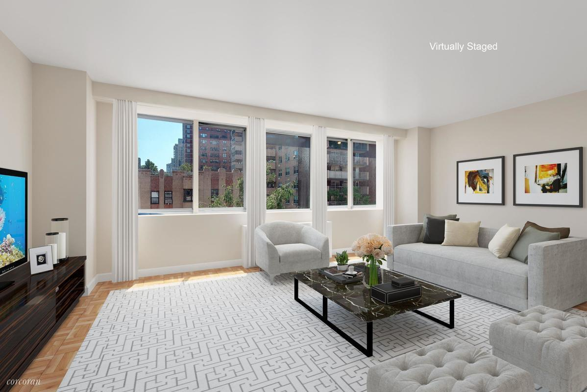 Streeteasy fairmont manor at 401 east 86th street in for Living room 86th street