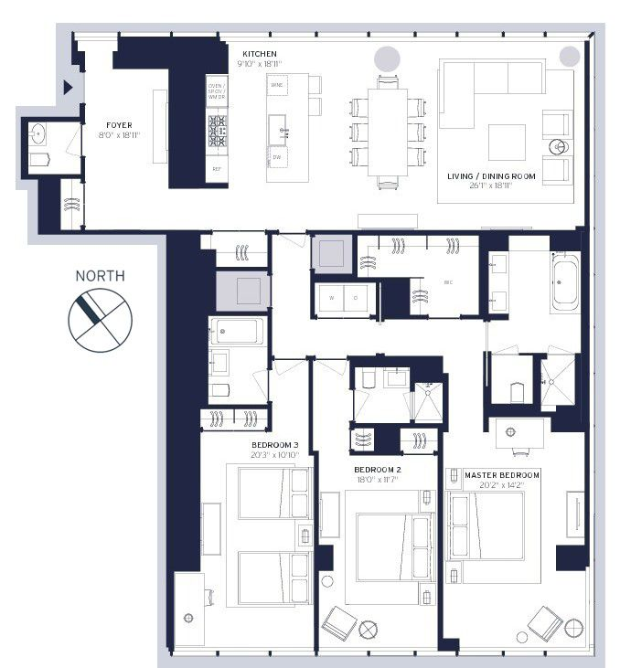 StreetEasy: One57 At 157 West 57th Street In Midtown, #37F