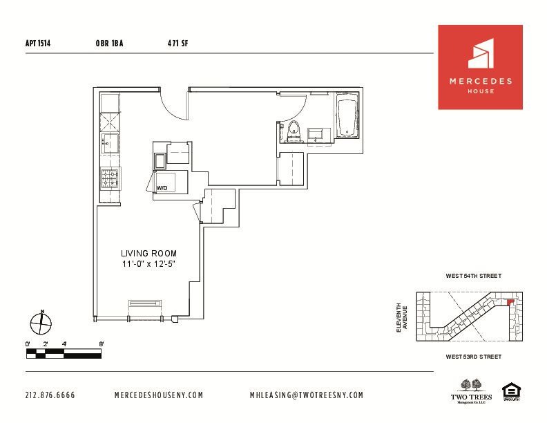 StreetEasy Mercedes House at 550 West 54th Street in Hells Kitchen – Mercedes House Floor Plans