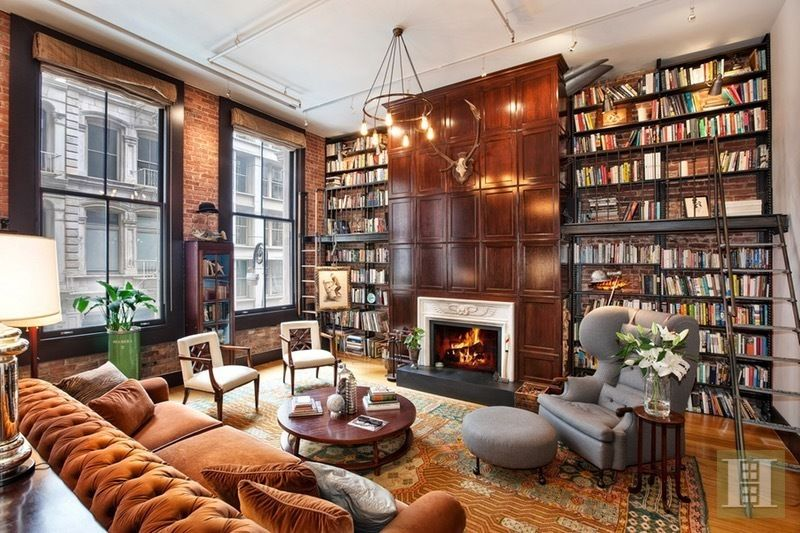 extraordinary new york loft living room | StreetEasy: 58 Walker Street in Tribeca, 2 - Sales ...