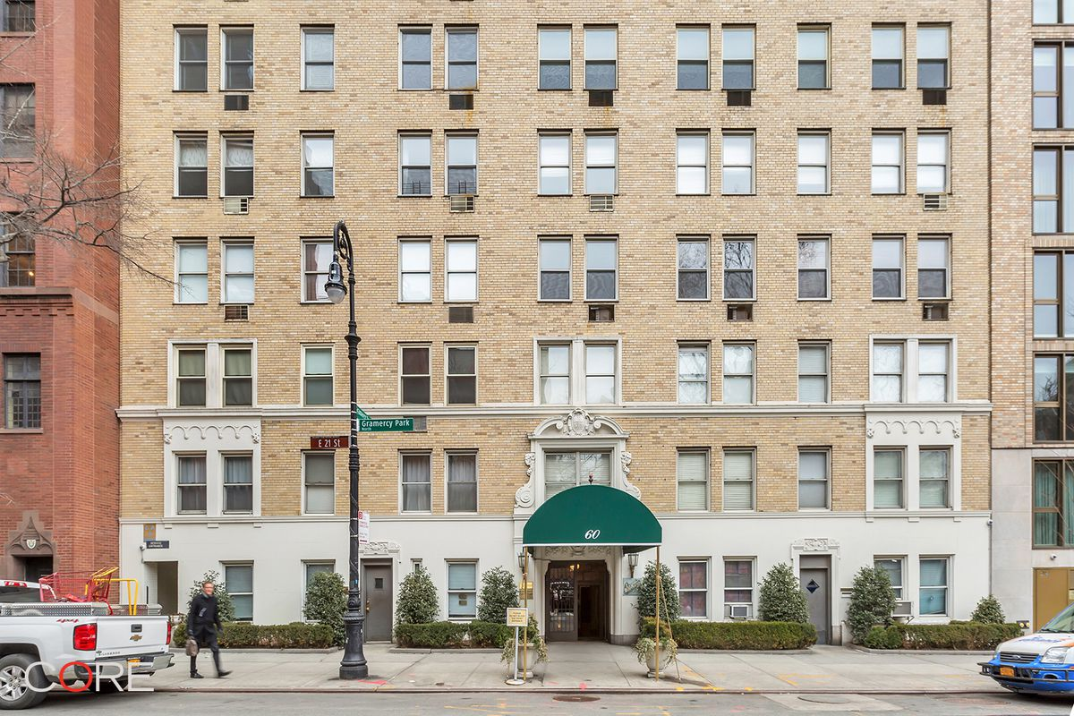 60 gramercy park north 16f in gramercy park manhattan for Gramercy park apartments for sale