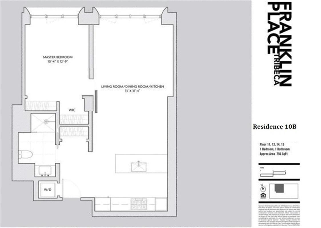 Streeteasy 5 Franklin Place In Tribeca 10bc Sales Rentals Stove Diagram 34bc