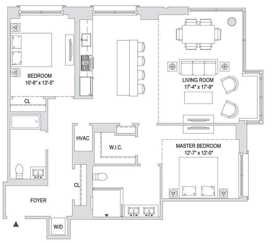 Apartments For Sale Hoboken: 1000 Maxwell Lane #10C In Hoboken, New Jersey