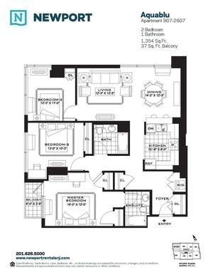 Streeteasy Aquablu At 110 River Drive In Newport 2607 Sales Rentals Floorplans Streeteasy