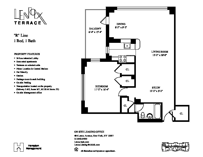 Lenox terrace floor plans lenox terrace floor plans lenox for The lenox floor plan