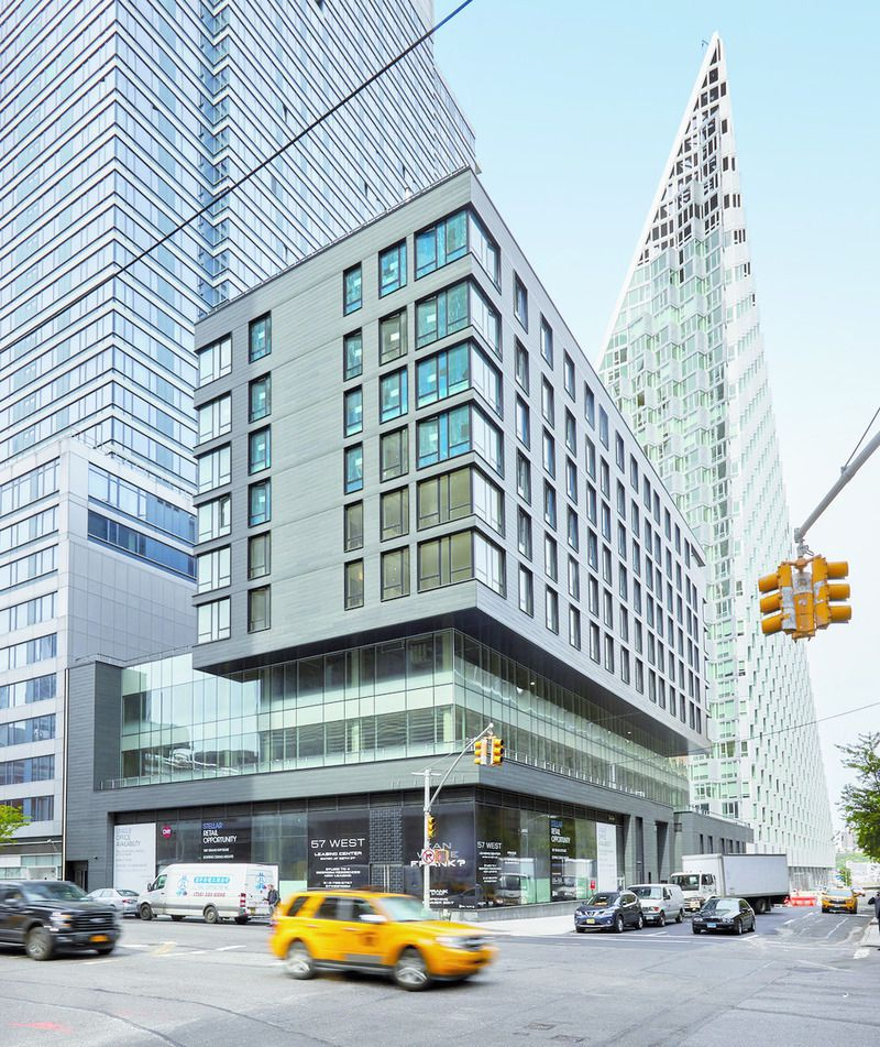 145 West 58th Street Rentals: FRANK 57 West At 600 West 58th St. In Hell's Kitchen