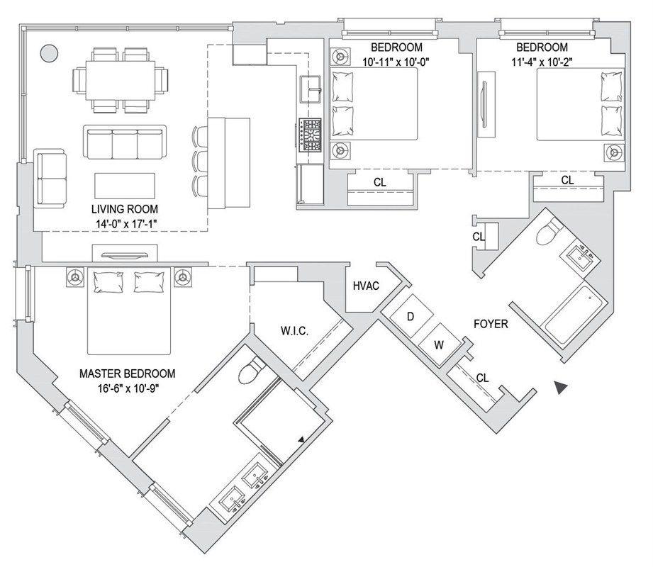 Apartments For Sale Hoboken: 1000 Maxwell Lane #10H In Hoboken, New Jersey