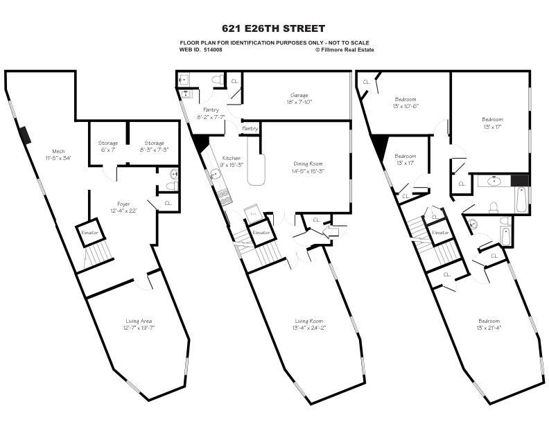 621 East 26th St In Flatbush Sales Rentals Floorplans