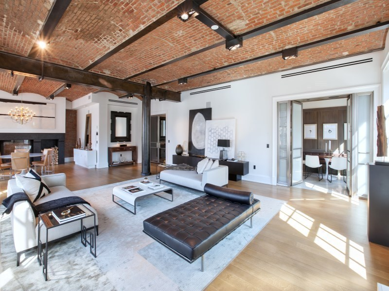 Streeteasy puck penthouses at 293 lafayette street in for Immagini di loft